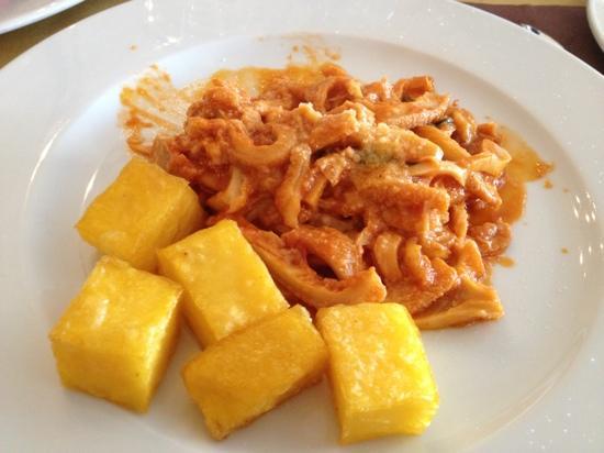 trippa con polenta gastronomia & macelleria la carne Polesella (Rovigo)