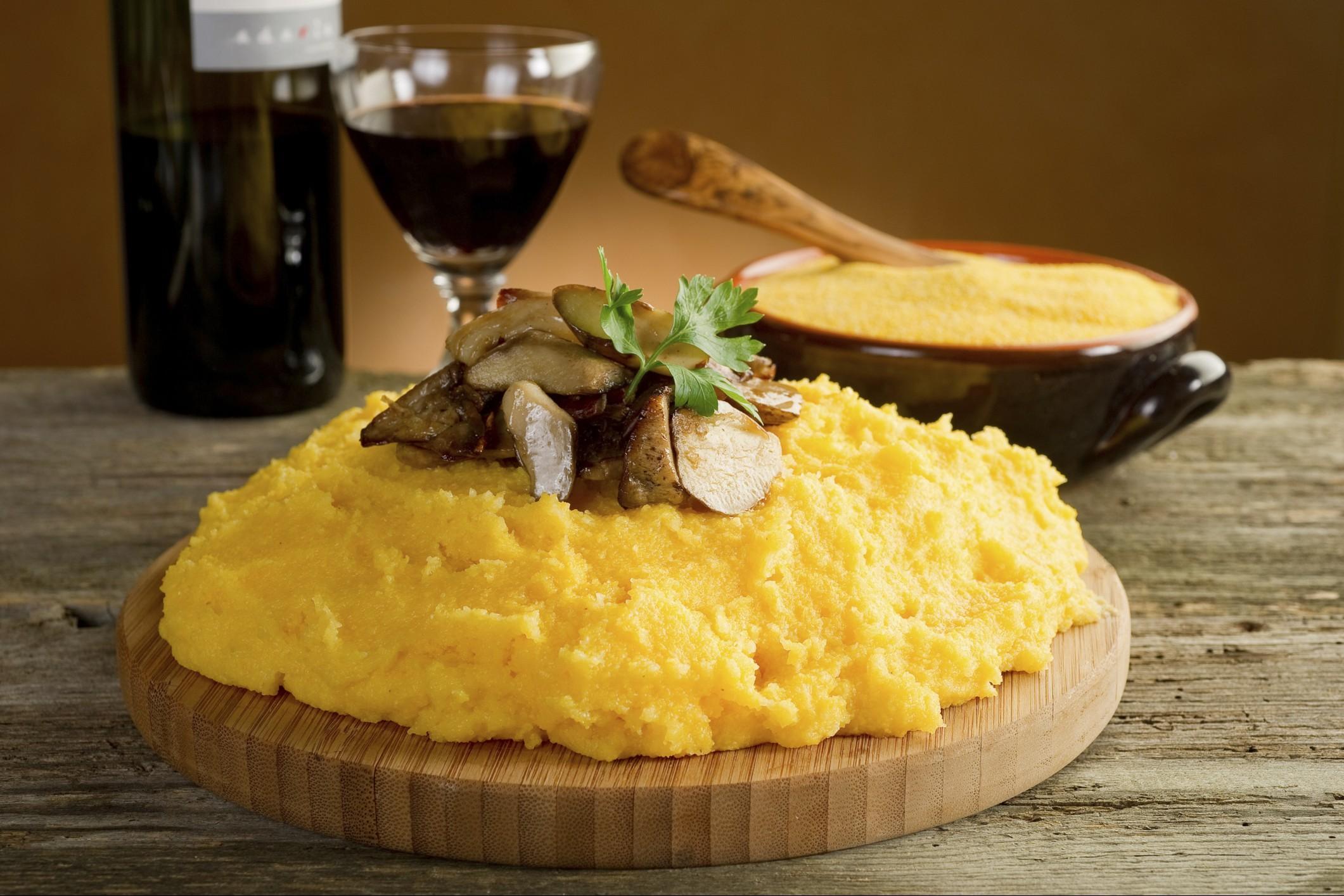 come cucinare la polenta gastronomia & macelleria la carne Polesella (Rovigo)