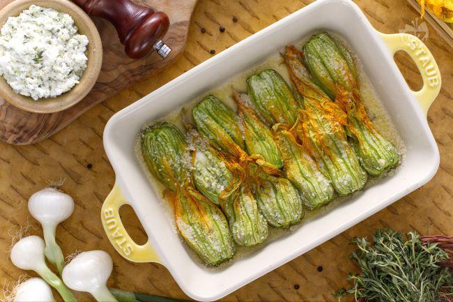 Fiori Zucchine Ricette.Fiori Di Zucchina Ripieni Gastronomia Macelleria La Carne