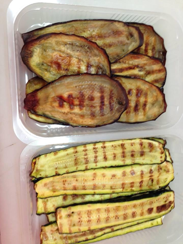 verdure grigliate gastronomia