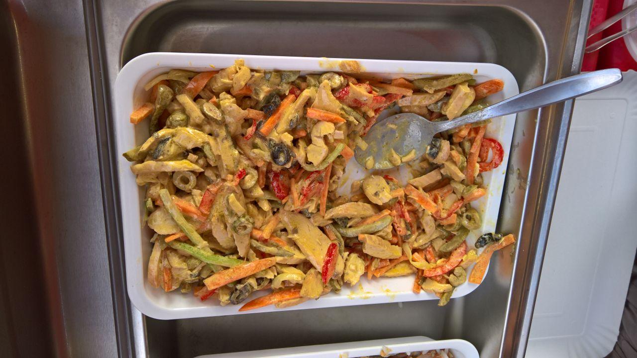 verdure pastellate gastronomia