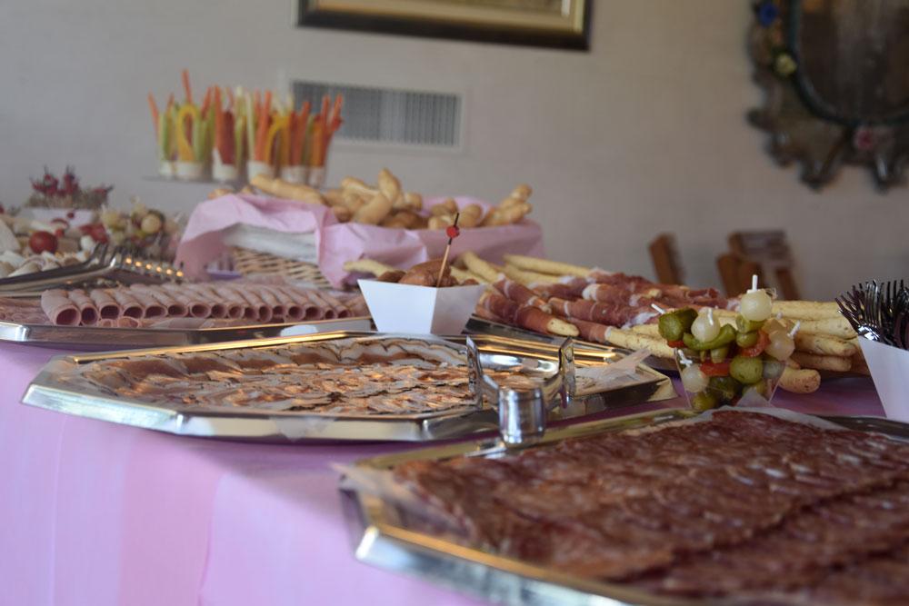 servizio catering battesimi Gastronomia