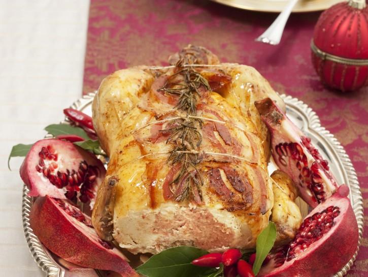 ricette invernali: cappone ripieno