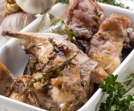 cucinare il coniglio a Natale: arrosto