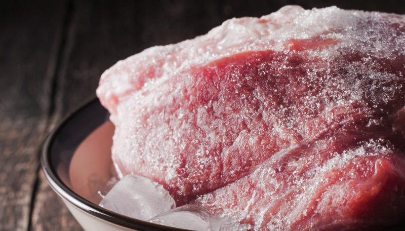come congelare la carne